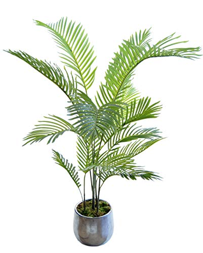 Palmera Artificial, Ideal para Decoración del Hogar u Oficina, Planta Artificial (150 cm)