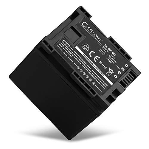 CELLONIC® Qualitäts Akku kompatibel mit Canon LEGRIA HF G10 G25 HF20 HF21 HF200 HG20 HG21 HF M31 (1780mAh) BP-807,-808,-809,-819,-827 Ersatzakku Batterie