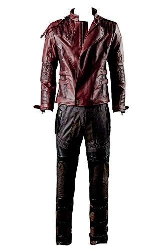 Beschützer der Galaxis 2 Peter Jason Quill Starlord Nur Jacke Cosplay Kostüm Herren M