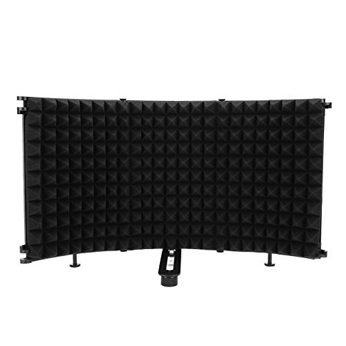 Protector De Sonido, Cubierta A Prueba De Sonido Plegable, Para Micrófono De Estudio De Transmisión En Vivo De Oficina