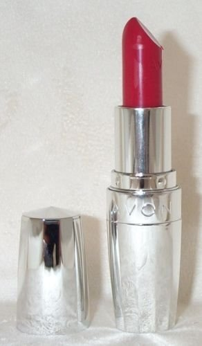 Avon Totally Kissable Lipstick (Smitten Red)