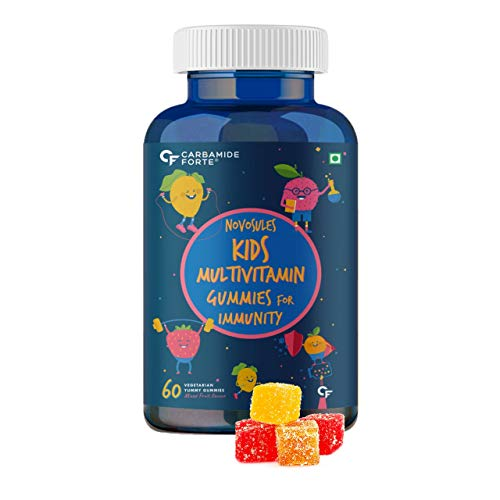 Carbamide Forte Multivitamin Gummies for Kids & Adults with Superfoods–60 Gummies