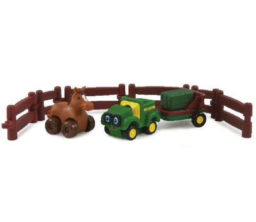 Johnny Tracteur agricole Adventure Set - Cheval - 37722H