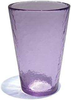 Vinciprova Le Gemme di Venezia Murano Collection Yalos Happy Drink Happy Fruit Agua diámetro mm. 92 x mm. 105 bibita Lila Cristal de Murano Made in Italy