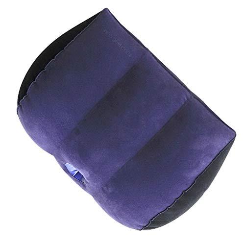 UsmanCR1 Flocado De PVC Almohada Multifuncional Lavable Multifuncional Cintura Posicionador Cuerpo Triángulo PVC Que Se YJL-Q00004