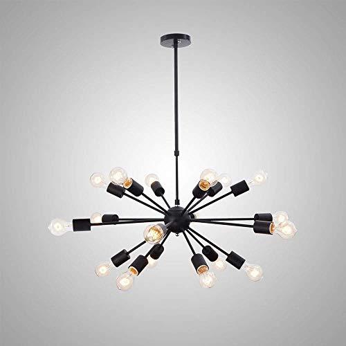 Kroonluchter, eenvoudige en elegante Retro kroonluchter, Industriële hanglamp for Bedroom Light Living Room Dining Room Decoration