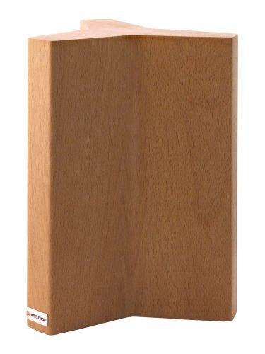 Wüsthof 7275 - 7275 - Ceppo per coltelli, in faggio con magnete interno, Ø 18 cm, altezza: 27 cm, ospita fino a 12 coltelli
