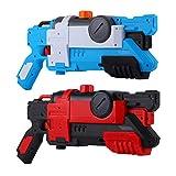 2 Pack Super Soaker Pistolet À Eau pour Enfants et Adultes, Haute Capacité Jusqu'à...