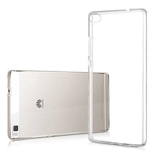 LONVIPI Custodia Cover Huawei Ascend P8 Lite Clear Trasparente Ultra Sottile Silicone Gel Tpu Morbida smartphone P8lite - LONVIPI