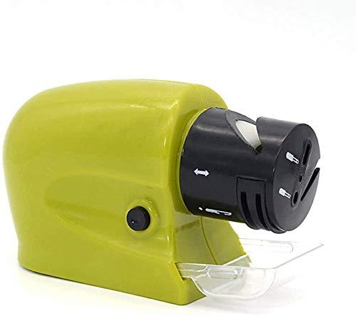 Afilador de cuchillos eléctrico Piedra afiladora de alta velocidad motorizada giratoria para afilar cuchillos. Tijeras. Destornilladores