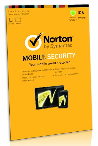 Norton Mobile Security for Android Smartphones and Tablets iPhone and iPad [import anglais]