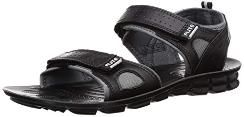 Flite-PU Men's Black Outdoor Sandals-10 UK (44 2/3 EU) (PUG076G_BKBK0010)