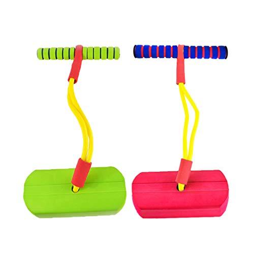 LIOOBO 2 Stücke Pogostick Schaum Hüpfstab für Kinder Erwachsene Mädchen und Jungen
