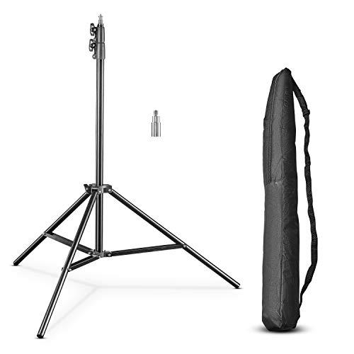 Walimex FT-8051 - Trípode (4 kg, 3 Pata(s), 2.6 m, Negro, 1.66 kg)