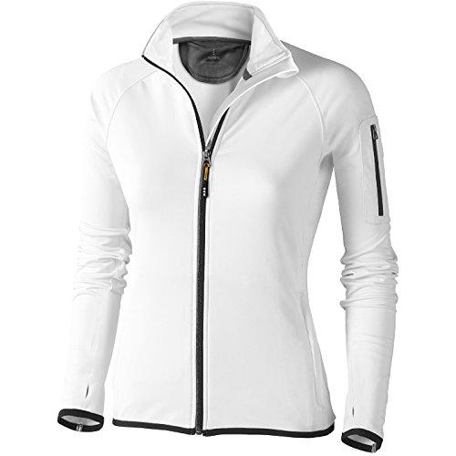 ELEVATE Power Fleece Mani Femme (XL, blanc)