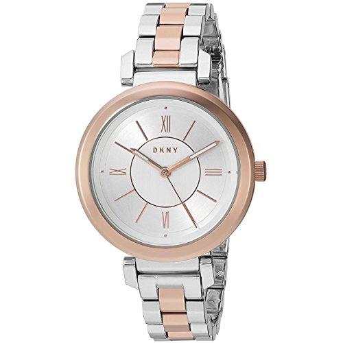 DKNY Damen Analog Quarz Uhr mit Edelstahl Armband NY2585