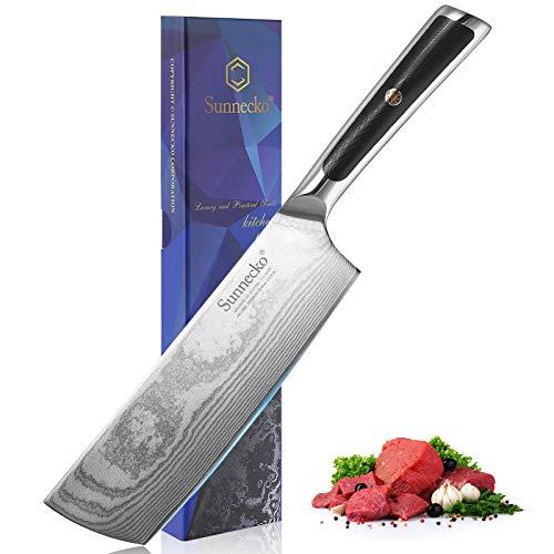 Sunnecko Sunnecko - 18cm Damastmesser Chinesisches Bild