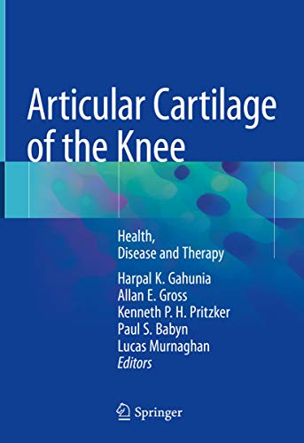 Articular Cartilage of the Knee: Health, Disease and Therapy Colorado