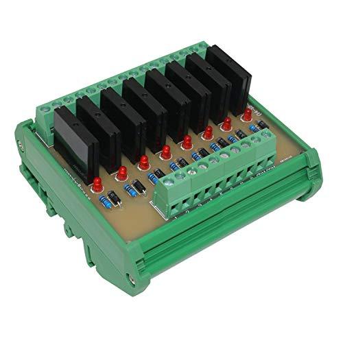 Arduino Ocho Canales Módulo de relé de Estado sólido Panel de Control Toma DC 24V NPN