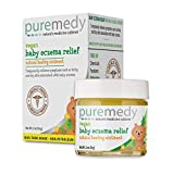 Puremedy Baby Eczema Treatment Relief Salve - Vegan, Homeopathic Remedy for Temporary Soothing Relief of Itchy, Dry Skin (2oz)