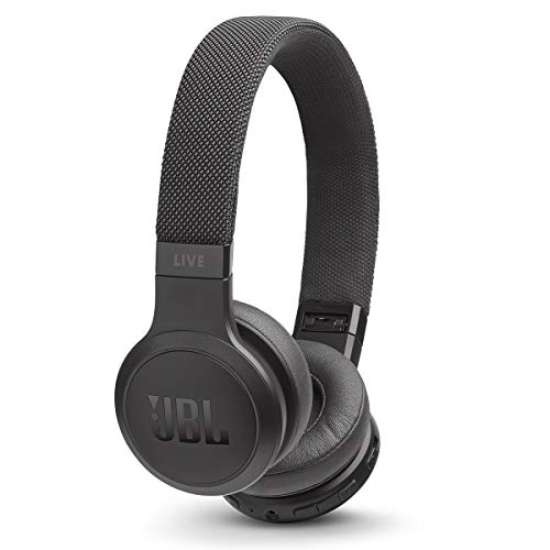 JBL Live 400BT On-Ear Wireless Headphones - Black