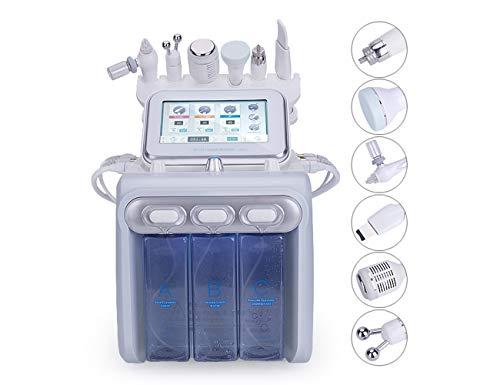 Elitzia 160W Hydra Gesichtswasser Aqua Peel Microdermabrasion RF Hautwaschspray BIO Mikro Strom Kalthammer Multifunktions SPA Beauty Device mit Kollagencreme und GEL ETLB245