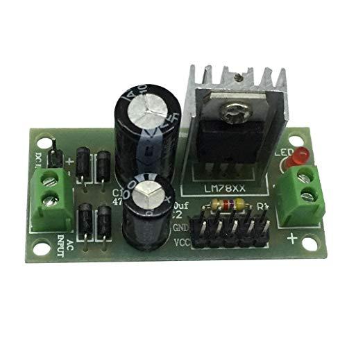DC/AC, 15V-24V Módulo Regulador de Voltaje de Tres Terminales con Orificio de Montaje