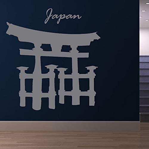 Tianpengyuanshuai religieus gebouw muursticker poort Torii woonkamer decoratie wanddecoratie vinyl Japanse sticker afneembaar