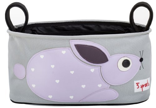 3 Sprouts Stroller Organizer, Rabbit Color: Rabbit