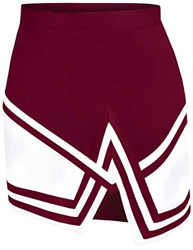 Crossover Cheer Uniform Skirt - Double Knit Adjustable Skirt For Cheerleaders - Women's Sizes