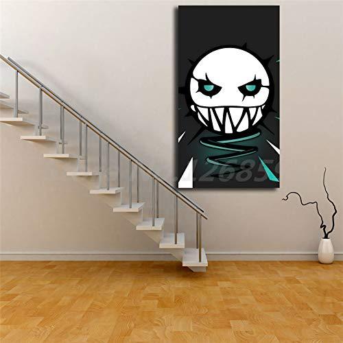 Sin Marco ELA of Rainbow Six Siege Wall Art Canvas Poster y Print Canvas ng Imagen Decorativa para la Sala de Estar de la Oficina Decoración para el hogar 30x40cm