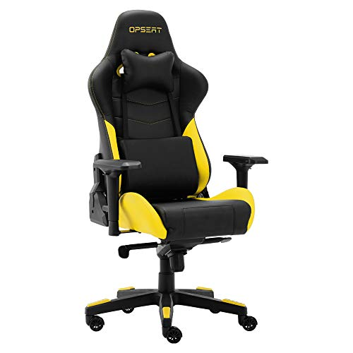OPSEAT Master Yellow Gaming Chair