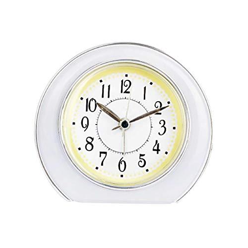 TQJ Despertadores Digitales Estudiante del Niño Reloj Despertador Dormitorio De Noche Reloj Silencioso Luminoso De Alarma De Reloj Multifunción Reloj Despertador Reloj Digital Despertadores Digitales