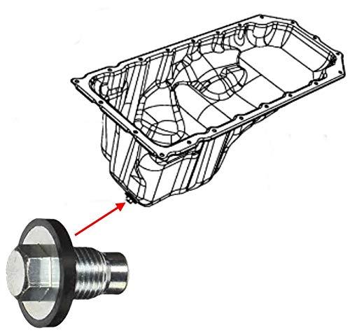 Ölablassschraube M14-1.50 MIT DICHTUNG (Ölfilter Ölwanne Ablaßschraube)