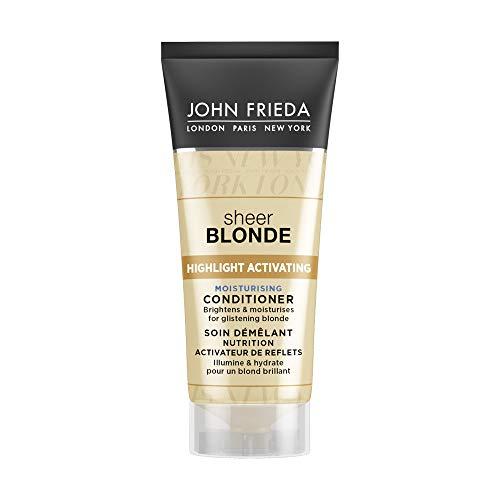 John Frieda Sheer Blonde highlight activering vochtinbrengende mini-shampoo, 50 ml