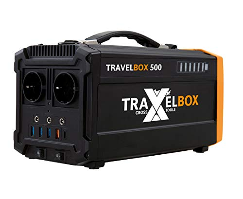 CROSS TOOLS 68050 TRAVELBOX 500 Akkubox / Powerstation (500 W)