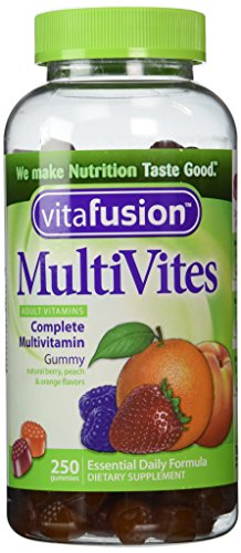 VitaFusion MultiVites Gummy Vitamins for Adults - 250 Gummies