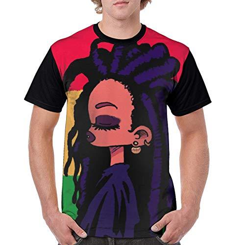 OIVLA Summer Men 3D Printed 2019 Rasta Art Black Afro Women Short Sleeve T-Shirt tee Shirt