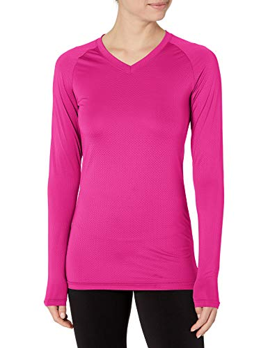 Augusta Sportswear Womens Assist Jersey, Power Pink, X-Large