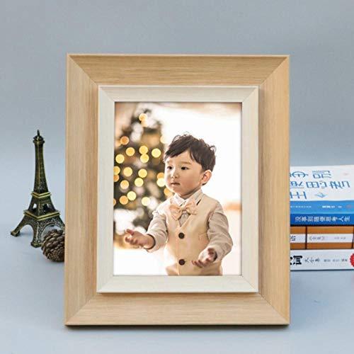 Gerenic fotolijst voor wanddecoratie, fotolijst voor foto's, staand formaat, fotolijst van kunsthars, milieuvriendelijk, voor baby's, kinderen, 1 stuks, fotolijst, decoratie thuis 10inch