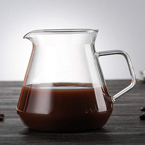 Jarras de vidrio grande jugo de agua helado jarra de té jarra de bebidas jarra de vino, hervidor de café a prueba de calor jarra de leche tetera hogar multifuncional botella de vidrio taza de desayuno