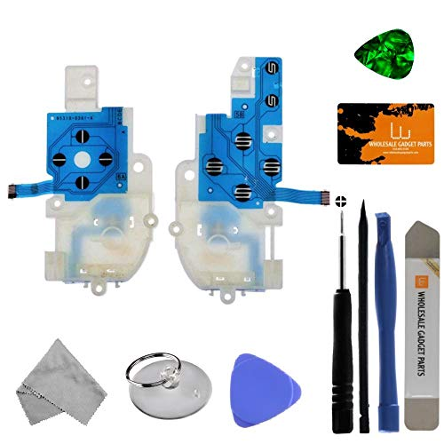 Gamepad Button Flex Assembly (Right & Left) for Nintendo Wii U with Tool Kit
