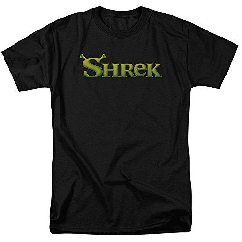 Trevco Men's Shrek Short Sleeve T-Shirt, Black, Small