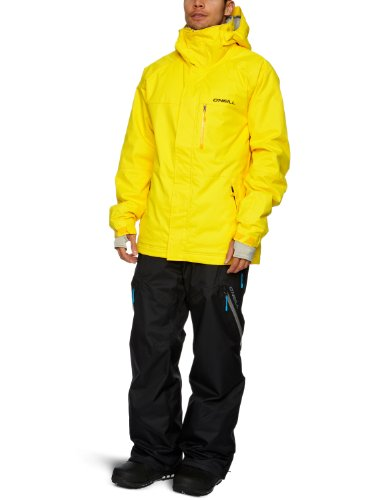 O'Neill Herren Skijacke District Jacket, Herren, gelb, XS
