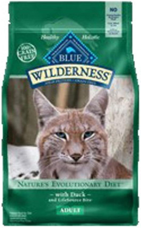 bluee Buffalo Wilderness GrainFree Duck Adult Cat Food, 2 lbs.