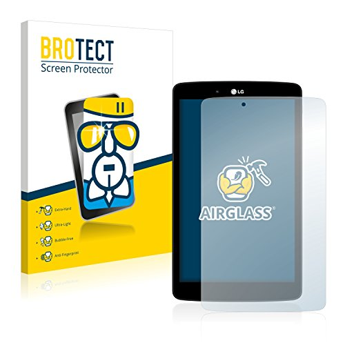 BROTECT Panzerglas Schutzfolie kompatibel mit LG Electronics G Pad 8.0-9H Extrem Kratzfest, Anti-Fingerprint, Ultra-Transparent