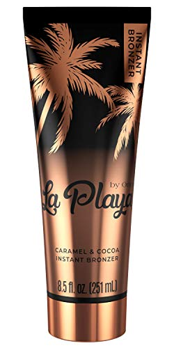 Onyx La Playa Tanning Instant Bronzer – Ultimate 3-in-1 Tinted Tanner – 100% Natural Origin Caramel & Cocoa – Indoor and Outdoor Tanning Lotion, Everyday Tinted Moisturizer – Vegan and Reef Friendly
