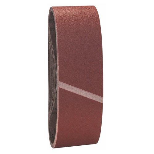 Bosch Pro Schleifband für Bandschleifer Holz und Farbe Best for Wood and Paint (10 Stück, Körnung 100, X440)