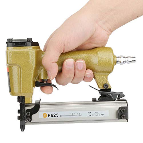 Grapadora de aire, clavadora de clavija de aire 60-100psi de longitud 10-25 mm para accesorio de decoración para carpintería