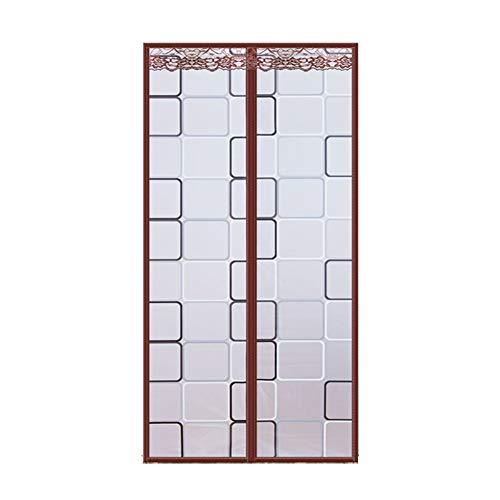 SHULI Magnetic Screen Door Hands Free Easy to Install for Sliding Glass Door French Door Patio Door,B,100cmx210cm